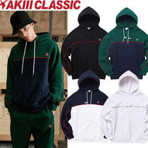 AKIII CLASSIC(アキクラシック) パーカー・フーディ [AKIII CLASSIC] パーカー ★ A-LABEL DOUBLE PIPING HOOD