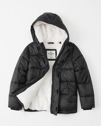 Abercrombie & Fitch キッズその他 アバクロBOYS the a&f essential puffer