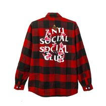 【レア!】 大人気 Anti Social Social Club Kkoch Flannel