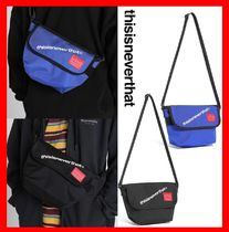 人気★【thisisneverthat】★Tint Mini NY Messenger Bag★2色★