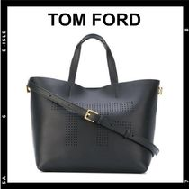 SALE【TOM FORD】Logo detailed 2 way Tote