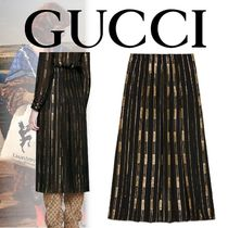 18/19AW GUCCI ダッパー・ダン プリーツスカート