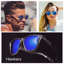 HAWKERS/ CARBON BLACK Clear Blue One