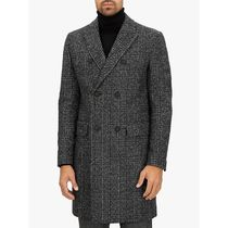 JAEGER(イエ−ガ−) コートその他 最新作 Jaeger Twisted Check Overcoat