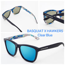 HAWKERS/ BASQUIAT X HAWKERS Clear Blue