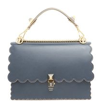 FE2330 KAN I BAG WITH SCALLOP DETAIL