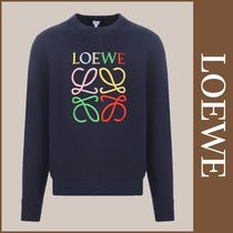 即完売◆NEW◆VIP価格◆LOEWEロゴ◆Anagram cotton sweayshirt