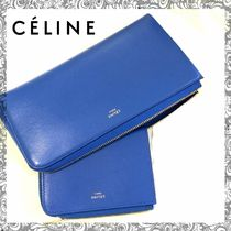 希少カラー♪Celine★LARGE ZIPPED MULTIFUNCTION 長財布
