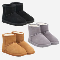 RESERVED / 新作 スエードアンクルブーツ  ankle boots in suede