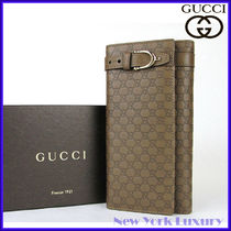 GUCCI★グッチ★素敵!Guccissima Leather Continental Wallet