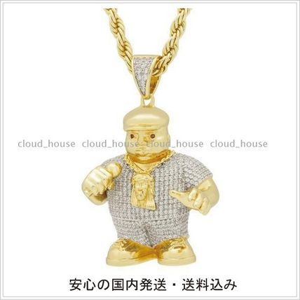 King Ice ネックレス・チョーカー 【Notorious B.I.G. x King Ice】Biggie Smalls Necklace/送料込