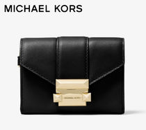 MICHAEL KORS/Whitney Small Leather Chain Wallet