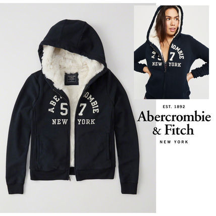 Abercrombie & Fitch パーカー・フーディ Abercrombie&Fitch*国内発送(追跡有)送関込*もこもこフーディー