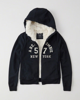 Abercrombie & Fitch パーカー・フーディ Abercrombie&Fitch*国内発送(追跡有)送関込*もこもこフーディー(2)