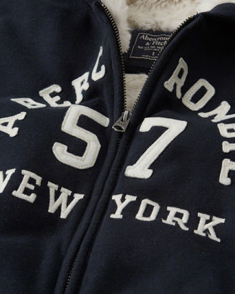 Abercrombie & Fitch パーカー・フーディ Abercrombie&Fitch*国内発送(追跡有)送関込*もこもこフーディー(4)