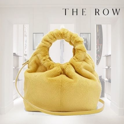 The Row ハンドバッグ 【18AW】★THE ROW★Double Circle small mink bag