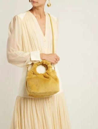 The Row ハンドバッグ 【18AW】★THE ROW★Double Circle small mink bag(2)