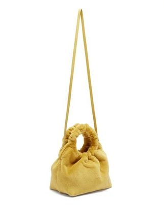 The Row ハンドバッグ 【18AW】★THE ROW★Double Circle small mink bag(5)