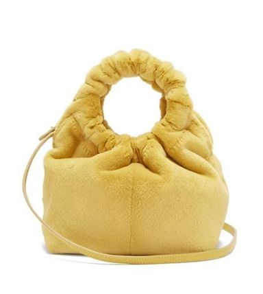 The Row ハンドバッグ 【18AW】★THE ROW★Double Circle small mink bag(7)