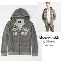 Abercrombie&Fitch*国内発送(追跡有)送関込*ロゴジップフーディ