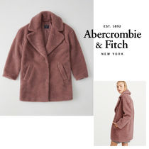 Abercrombie&Fitch*国内発送(追跡有)送関込*Pinkテディ―コート