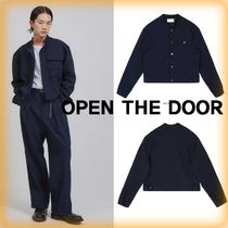 【OPEN THE DOOR】人気★crows zero crop jacket  ★全2色