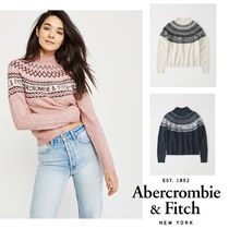Abercrombie&Fitch*国内発送(追跡有)送関込*ロゴ入りセーター