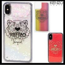 KENZO/キラキラ Tiger iPhone XS Max case 【送関込】