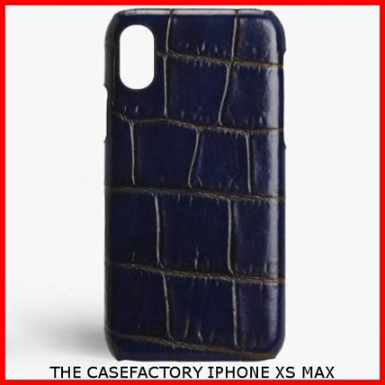 THE CASE FACTORY スマホケース・テックアクセサリー 関税送料込☆THE CASEFACTORY☆IPHONE XS MAX CROCODILE
