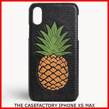 THE CASE FACTORY スマホケース・テックアクセサリー 関税送料込☆THE CASEFACTORY☆IPHONE XS MAX PINEAPPLE
