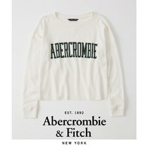 Abercrombie&Fitch*国内発送(追跡有)送関込*ワッフルロゴTシャツ