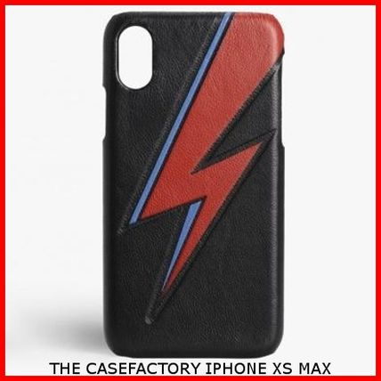 THE CASE FACTORY スマホケース・テックアクセサリー 関税送料込☆THE CASEFACTORY☆IPHONE XS MAX BOWIE LIGHTNING