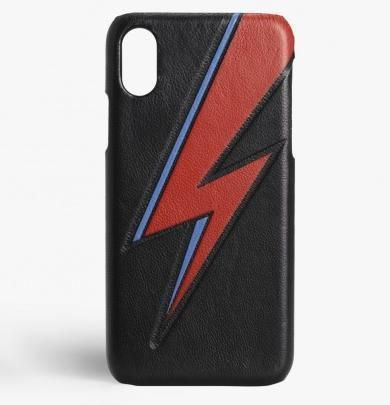 THE CASE FACTORY スマホケース・テックアクセサリー 関税送料込☆THE CASEFACTORY☆IPHONE XR BOWIE LIGHTNING BLACK(2)