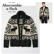 Abercrombie&Fitch*国内発送(追跡有送関込*アイコンカーディガン