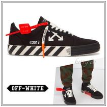 関税込【Off-White】19SS  BLACK LOW TOP SNEAKERS