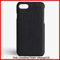 関税送料込☆THE CASEFACTORY☆IPHONE 7/8 CALF DRUMMED BLACK