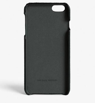 THE CASE FACTORY スマホケース・テックアクセサリー 関税送料込☆THE CASEFACTORY☆IPHONE 7/8 CALF DRUMMED BLACK(3)