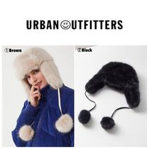 【UrbanOutfitters】☆新作☆ Snowball Faux Fur Trapper Hat