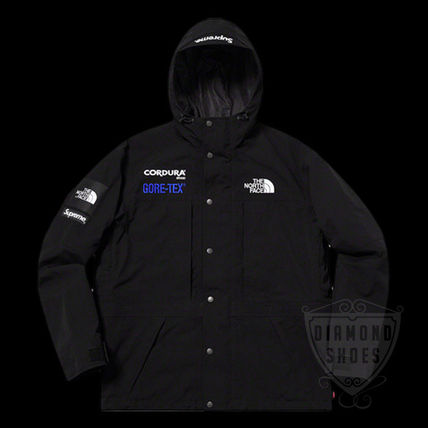 FW18 SUPREME THE NORTH FACE EXPEDITION JACKET BLACK 黒 S-XL