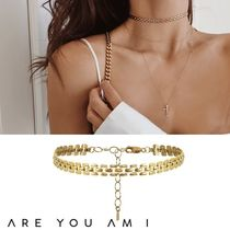 ARE YOU AM I(アーユーアムアイ) ネックレス・ペンダント セレブ愛用【ARE YOU AM I】JACE 14K チョーカー*関送込