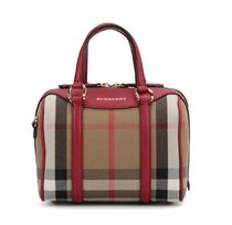 【 Burberry 】スモール ALCHESTER ボーリングバッグ レッド