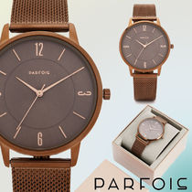 【NEW COLLECTION☆】Brown Watch【プレゼントにも♪】