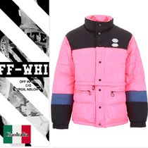 OFF WHITE Bicolor Puffer Jacket