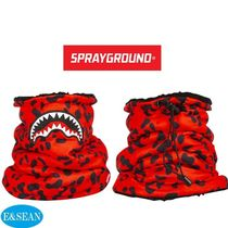 【SPRAYGROUND】RED LEOPARDネックウォーマー