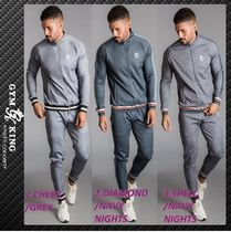GK POLY FUNNEL NECK TRACKSUIT セットアップ
