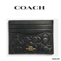 【COACH 正規店】カードケース・Card Case In Signature Leather