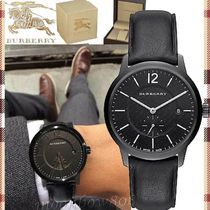 【SALE★スイスmade】Burberry The Classic Round BU10003