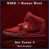 "【NIKE】激レア ☆  超限定 コラボ Air Yeezy 2 ""Red October"""