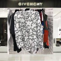 【VIP Sale!30%off】 GIVENCHY_men /茨柄プリントシャツ/WH