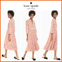 【大人気】新作!!☆kate spade☆bakery dot midi dress